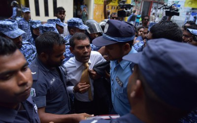 Jailed Maldives ex-leader says his appeal being scuttled